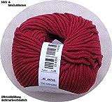 100 gr. Montego Fb. 48 rubinrot, m. Merino, Linie 55, Brandneu, Online, Herbst/Winter 2014/15