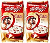 #5: Kellogg's Natural Plain Oats, 500g (Pack of 2)