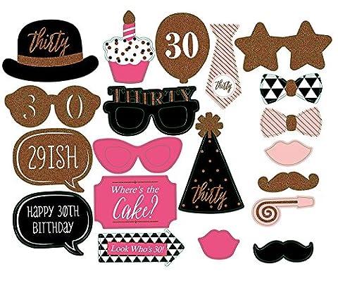 20pcs Funny fête Photo Booth DIY Kit pour fête d'anniversaire de mariage, Evetns et fonctions de mariage