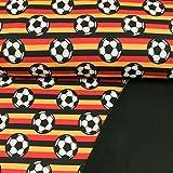 Softshell Stoff Fußball Deutschland Fussball - Preis gilt