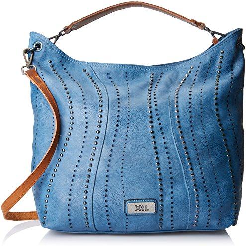 XTI - 85962, Borse a mano Donna Blu (Jeans)