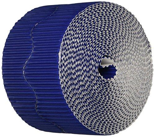 Bordüren-Set 0037206gewelltem Dekorative Grenze, 50'Länge x 2-1/10,2cm Größe, royal blau (2-wallpaper-grenze)