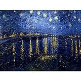 Wee Blue Coo LTD Vincent Van Gogh Starry Night 1888 Old