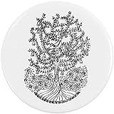 Azeeda 58mm 'Rebhuhn in einem Birnenbaum' Pin Knopf-Abzeichen (BB00017544)