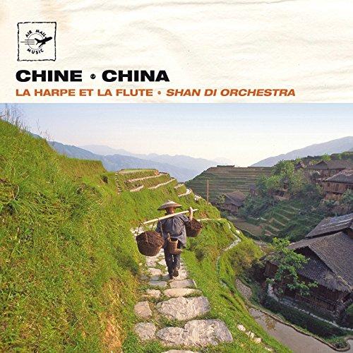 china-chine-la-harpe-et-la-flute-air-mail-music-collection