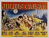 Julius Caesar, Louis Calhern, Marlon Brando, James Mason, 1953 - Foto-Reimpresión película Posters 36x28 pulgadas - sin marco