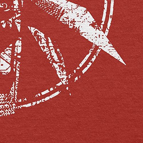 Texlab–hexer Logo–sacchetto di stoffa Rot