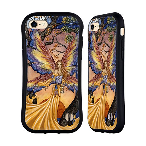 Ufficiale Amy Brown Passaggio DellAutunno Fate Case Ibrida per Apple iPhone 7 / iPhone 8 Tempus Fugit