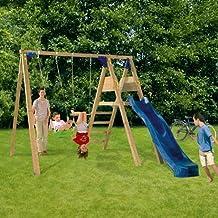 Columpios - Juego Parque Infantil BlueRabbit DECKSWING - NO Incluye Maderas
