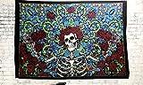 Diseño único blanco negro MANDAL Hippie colgante de pared Art Decor mandala tapices Hippie...