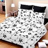 Vintana 152 TC Cotton Bedsheet with 2 Pi...