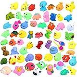 Juguetes de baño, Animal juguetes de bañera para niños Accesorios de baño de piscina de agua (12 Piezas B)