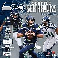 Seattle Seahawks Calendrier mural NFL Football 2017