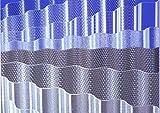 ACRYL - Lichtplatten Profil 76/18 Sinus - Wabe bronze - 4500 x 1045 x 3,0 mm (EUR 24,90/qm) Mindestbestellwert: Euro 100,00