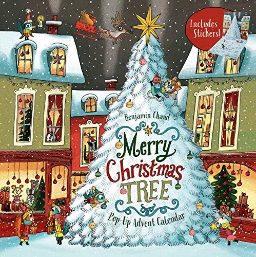 Merry Christmas Tree: Pop-Up Advent Calendar. Pop-Up Advent Calendar