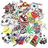 Aufkleber 100PCS StillCool® shifashionshop Aufkleber für Skateboard Snowboard-Weinlese-Vinylaufkleber-Graffiti Laptop Gepäck Auto-Fahrrad