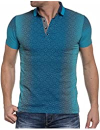 BLZ jeans - Polo turquoise baroque