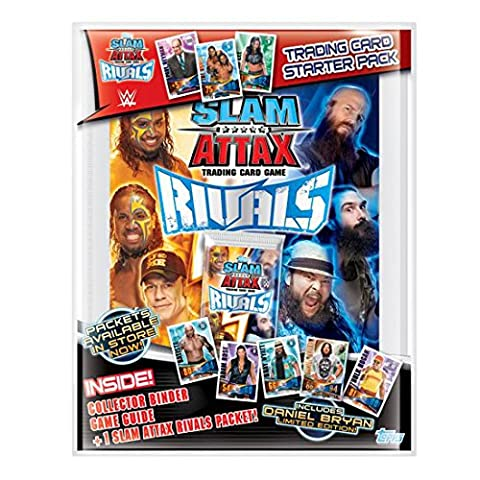 SLAM Attax Rivaux wwesasp Topps Trading Card Starter Pack