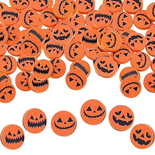 65 pezzi Gomme per Halloween Mini Gomme per zucca Novità Gomme per feste per Halloween Regali per feste Premio Premi