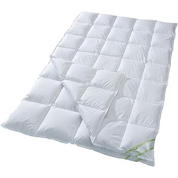 vier jahreszeiten daunenbettdecke 100 daunen 135x200 nomite k che haushalt. Black Bedroom Furniture Sets. Home Design Ideas