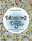 Blossoms and Bugs: ZenTangle Coloring Book for Adults