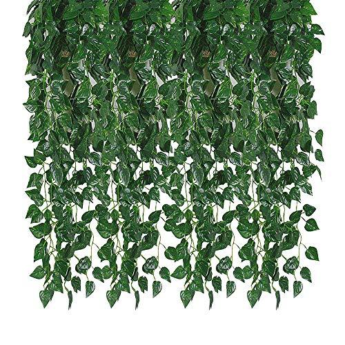 Kalolary 78 Ft 12 Hilos Artificial Ivy Garland Hoja
