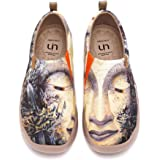 UIN Scarpe Ginnastica Scarpe Espadrillas Green Nirvana per Donna Casual Slip on Mocassini Sneakers Basse Colorate in Tela Dip