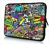 13-13.3 Zoll Tablet Hülle, laptoptasche - zoll Fall Neopren für Notebooks Dell HP Macbook Samsung Apple Toshiba (13 labels)