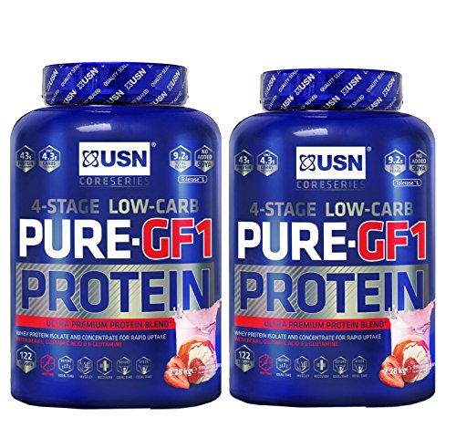 2-X-USN-Pure-Protein-GF-1-228kgMulti-Stage-Protein-Powder-Chocolate-Strawberry
