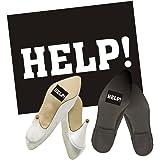 """Adesivo per scarpe """"Help!"""" per matrimonio, motivo: chiesa"""