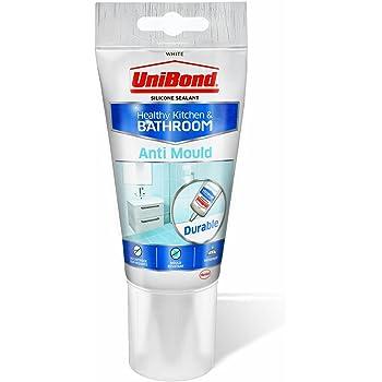 unibond 2079321 mastic anti moisissure pour cuisine et salle de bain blanc blanc 2079321 0w. Black Bedroom Furniture Sets. Home Design Ideas