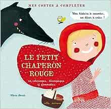 Le petit chaperon rouge: Amazon.fr: Marie Paruit: Livres