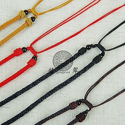 Nueva Fuente grande de la cuerda de ágata collar de perlas de cuerda nueva producción fabricante de la cuerda del collar del suéter de alto