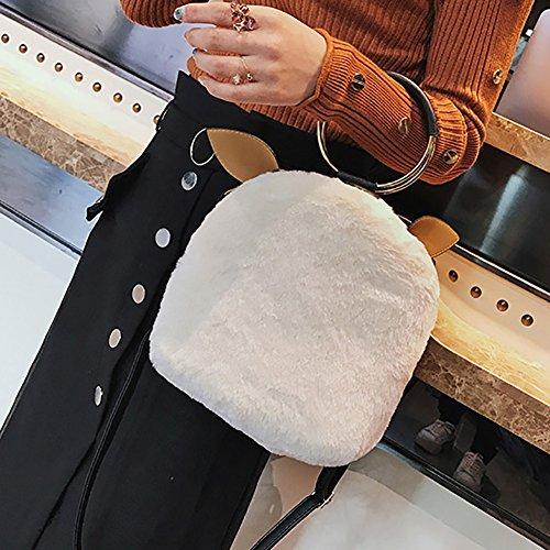 prelikes , Damen Rucksackhandtasche, rose (Pink) - 1139DG929FN2 weiß