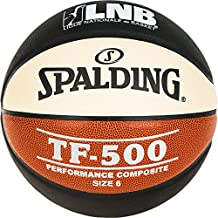 quality design 3577f 91efe Spalding Lnb Tf500 Ballon de Basket-Ball Mixte