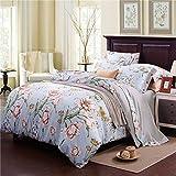 Die besten Gemütliche Bettwäsche Tröster Sets - Morbuy Bettbezug Set Baumwolle, Bettwäsche Set 3-teilig 100% Bewertungen