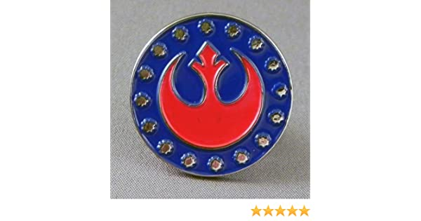 Star Wars New Republic Emblem Quality Enamel Tie-pin