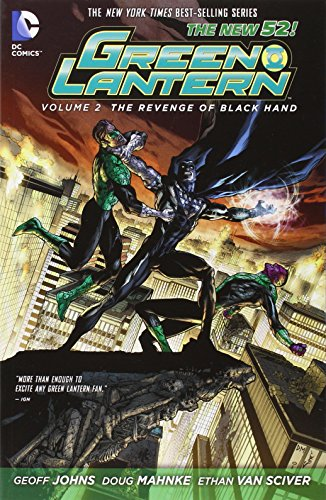Green Lantern Volume 2: The Revenge of Black Hand TP (The New 52)