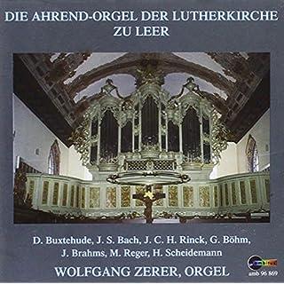 Ahrend Orgel zu Leer