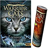 Beltz & Gelberg Warrior Cats - Vision von Schatten. Donner und Schatten: Staffel VI, Band 2 + Warrior Cats Poster
