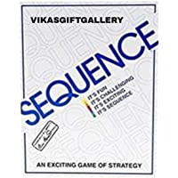 Vikas gift gallery Sequenc Card Game for Kids 7 Year Plus