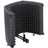 Microfono Isolamento Shield Mic Fonoassorbente Schiuma Riflettore Pannello Pieghevole Per Attrezzature Studio Di…