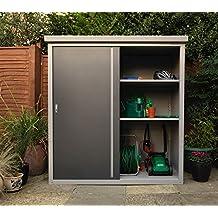 suchergebnis auf f r gartenschrank aus metall. Black Bedroom Furniture Sets. Home Design Ideas