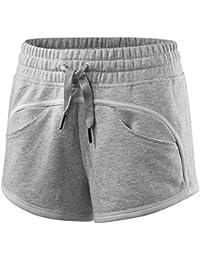 e213f002312aa4 Adidas by Stella Mccartney Essential Knit Fitness Shorts Short Hose Damen  Fr. XS grau