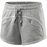 Adidas by Stella Mccartney Essential Knit Fitness Shorts Short Hose Damen Fr. XS grau