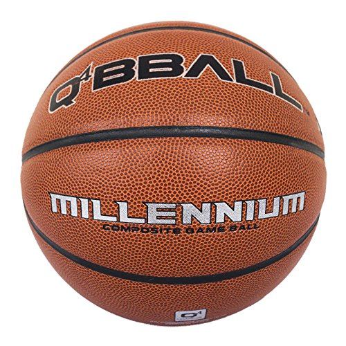 Q4 Millennium Basketball 6 hautfarben (Black Grain Pebble)