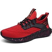 FUSHITON Homme Chaussures de Mode Sport Baskets Décontractées Jogging Fitness Course Marche Respirante Sneakers Léger…