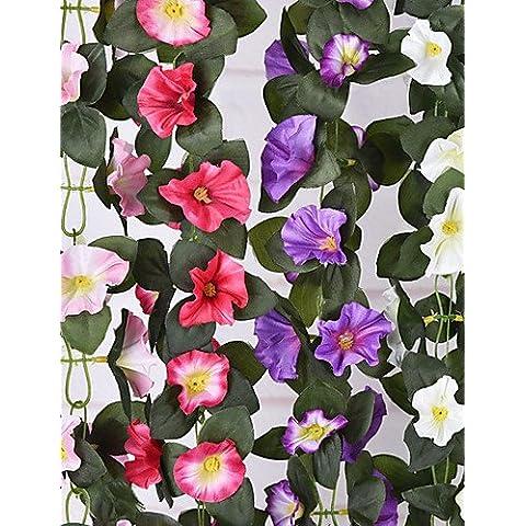 Home decorazione di fiori artificiali, seta Altri