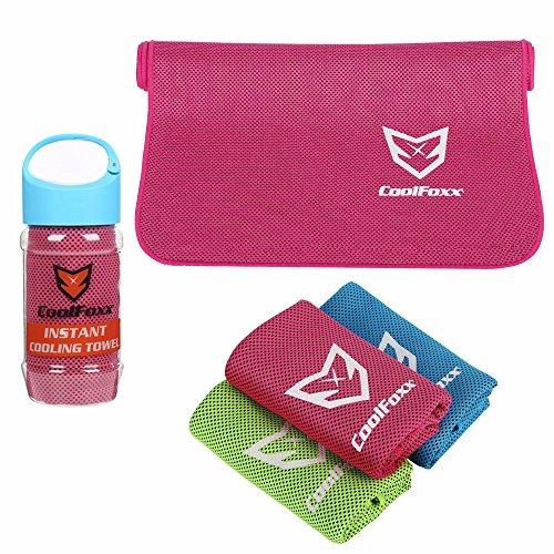 5. CoolFox - Toalla de enfriamiento instantáneo