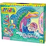 Orb Factory ORB64327 - Loisirs Créatifs - Dauphins - Sticky Mosaiques Autocollantes aux Numéros